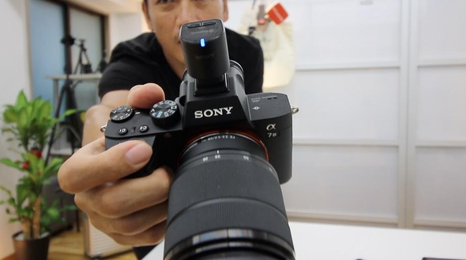 SONYワイヤレスマイク / A7IIIで動画撮影が超快適!ECM-W1M