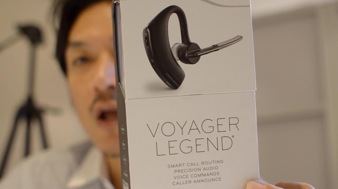 スマホのワイヤレスイヤホンは、Plantronics Voyager Legendが凄くいい!
