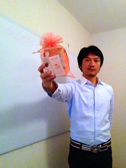 素敵なプレゼント頂きました〜
