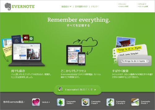 evernote(エバーノート)ビジネス活用術