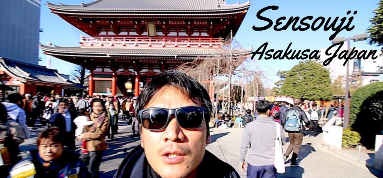 僕の浅草寺の歩き方を少しご紹介します!