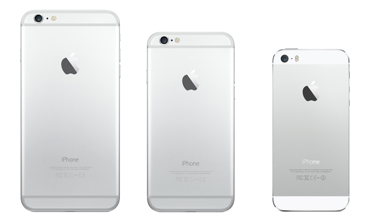iPhone 6 / iPhone 6 Plus と iPhone 5s の違いをまとめると