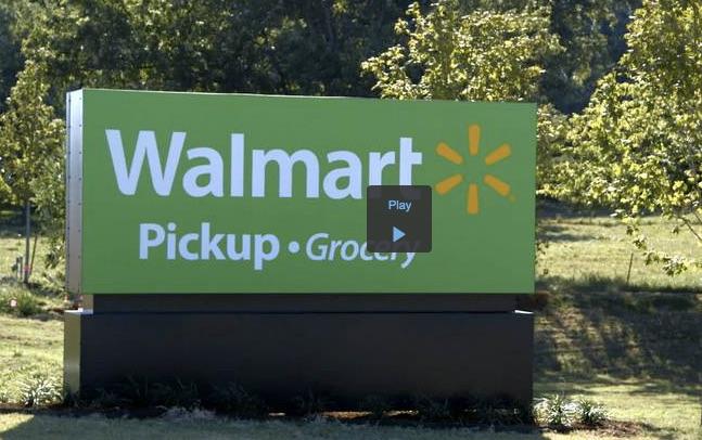 ウォールマート 店舗でドライブスルーはじまる。