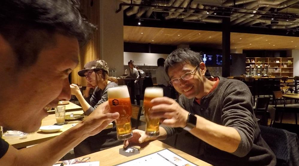 代官山ログロード、スプリングバレーさんで美味しいクラフトビール^^