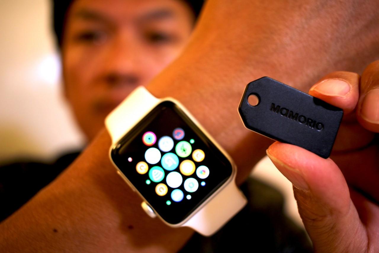 Apple Watch & iPhoneがあれば、もうお財布なくさないかも。mamorio