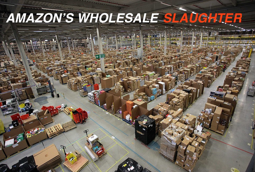 Amazon卸売業界支配へ - アマゾンサプライ