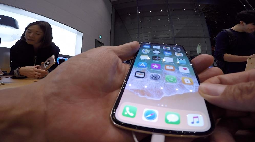 iPhoneX触りに、晩メシついでに、アップルストアー表参道へぷらっとVLOG