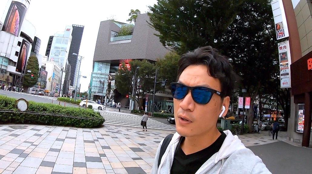 ゴープロ7で表参道で自撮りして、おかしくなく普通に歩けるか?/このビデオの撮影機材GoPro HERO7