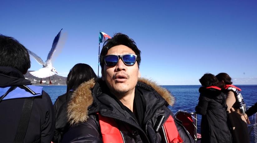 熱海温泉旅行#2 / ドローン→ 遊覧船→ ビュッフェ。