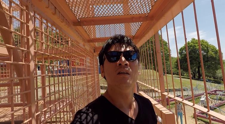 【キャンプ2日目】巨大アスレチック迷路に挑戦!