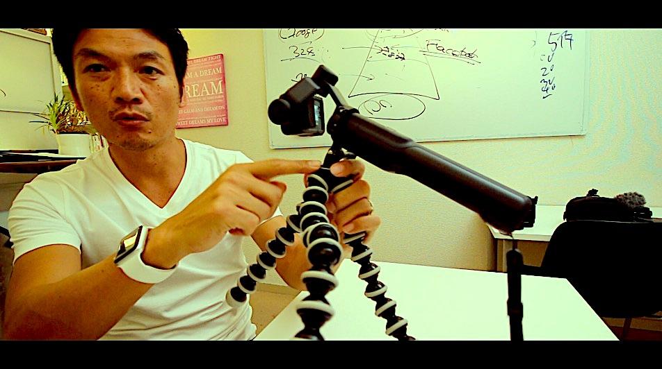 unx9403 GoPro用のカメラネジ変換アダプター karma Gripの三脚