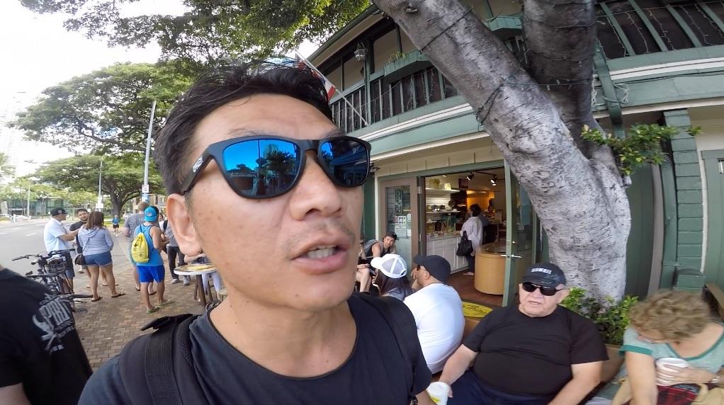 ハワイ#7 ブランチ難民?→ ワイキキビーチ→ 焼肉屋GEN
