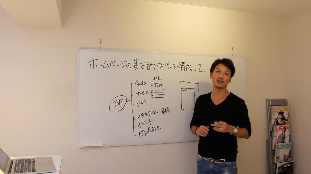 ホームページの基本的なページ構成(サイトマップ)について解説!