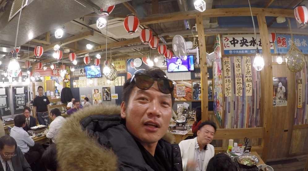 サイト制作会社の社長仲間で集まり忘年会 @名古屋