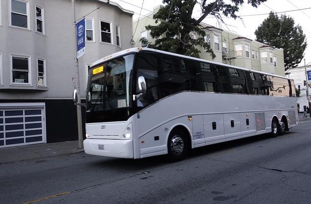 Googleバスは仕事がはかどるんですって。