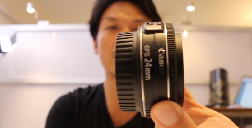 キャノン単焦点レンズを比較!一眼レフ動画撮影 50mmSTM vs 24mmSTM 標準ズームも出てきます18-55mm。