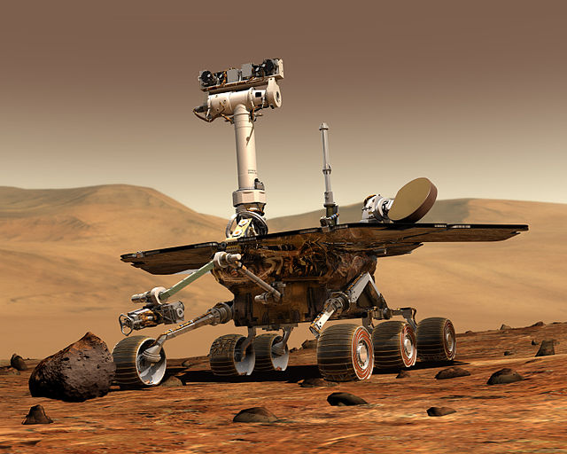 火星探査車オポチュニティがかっこいい!
