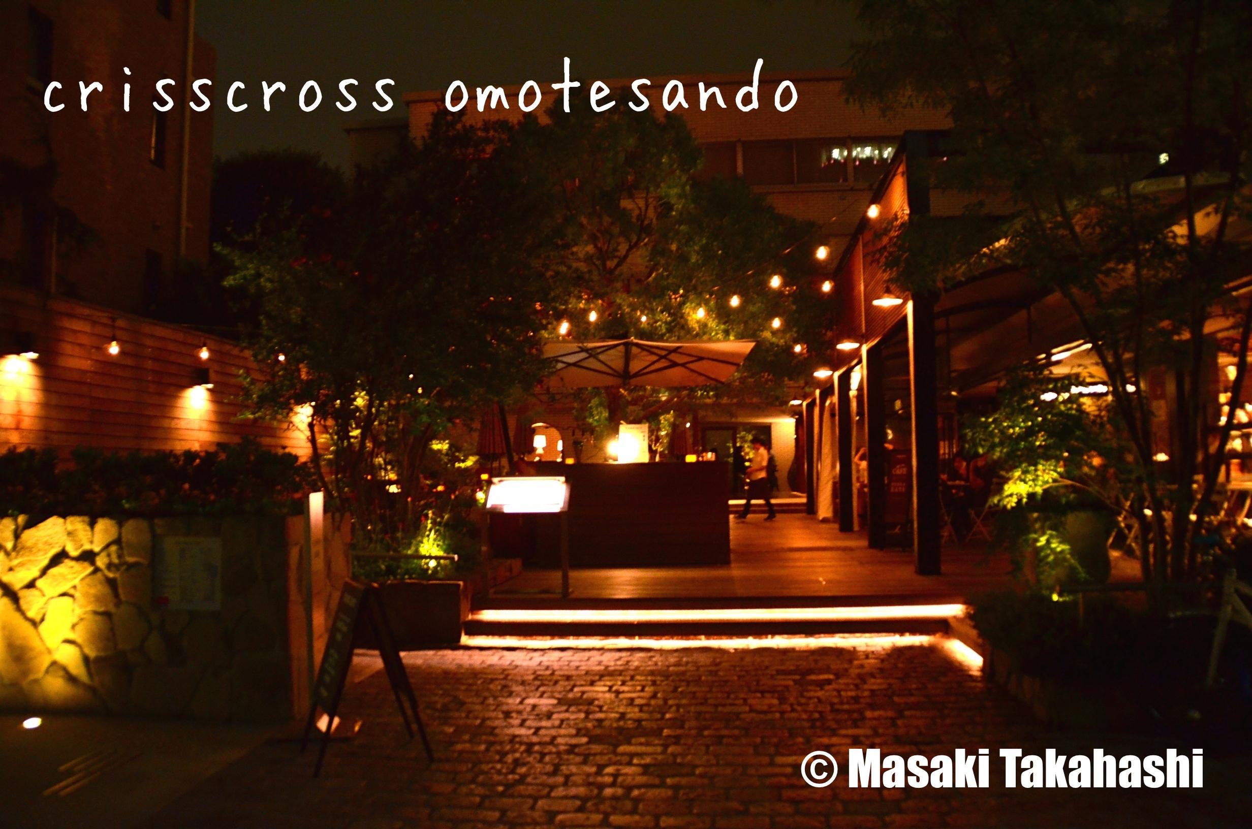 crisscross(クリスクロス)表参道へ行ってきました。