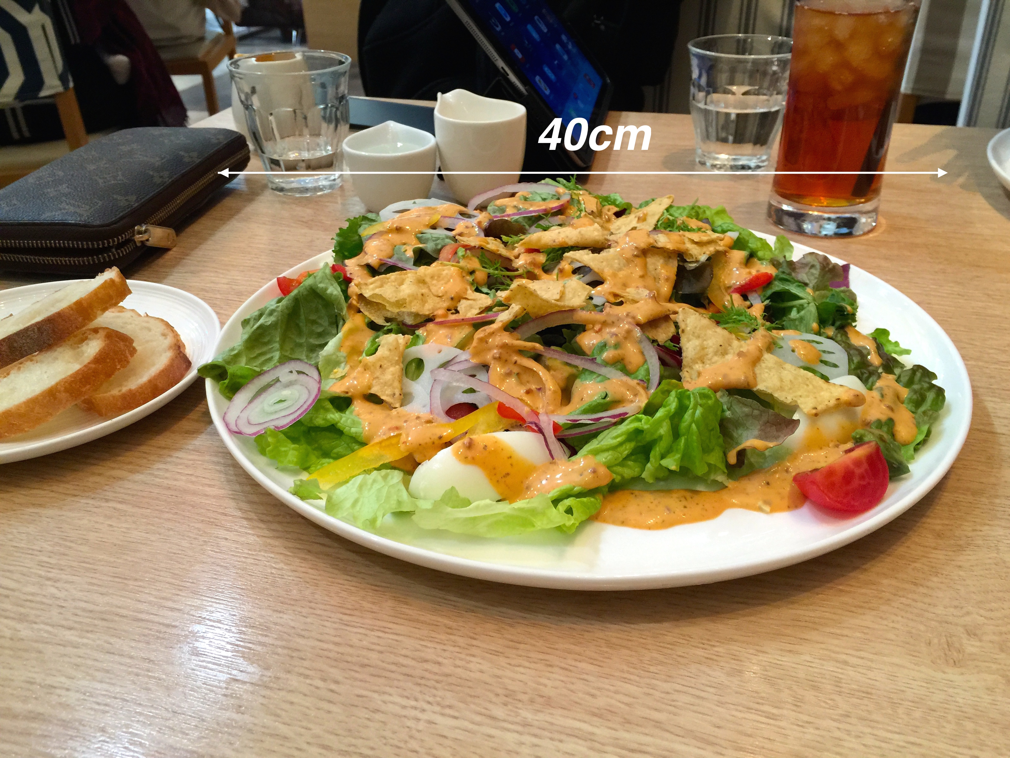 ロブロス恵比寿店のチョップサラダが痩せる。