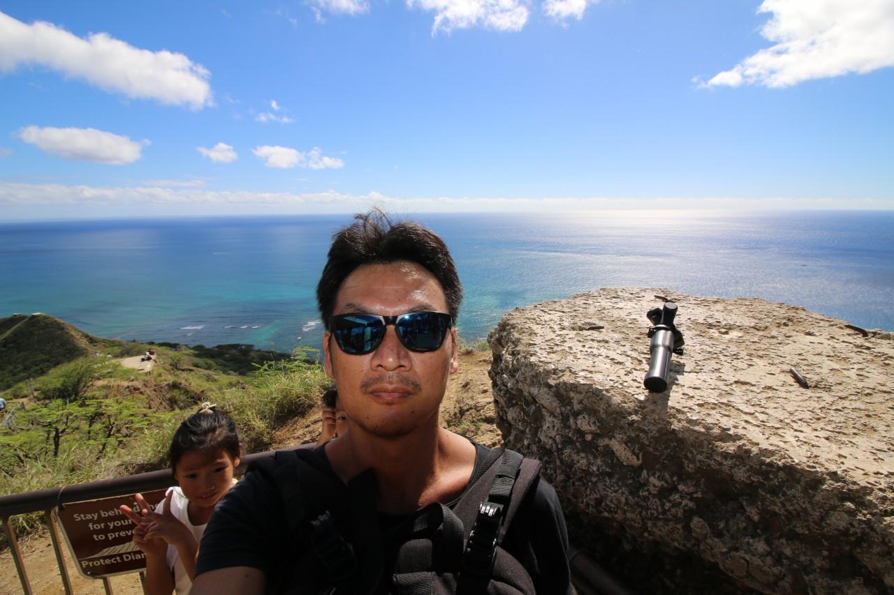 ハワイ#5 ファーマーズマーケット朝飯&ダイアモンドヘッド登山