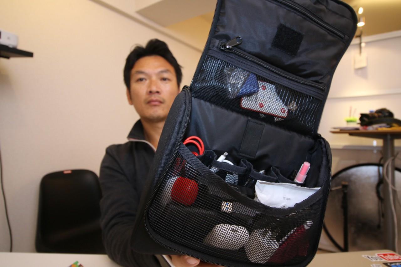 バッグインバッグ買ってきました!バッグとその中身をご紹介!普段こんな物を持ち歩いてます^^ reisenthel(ライゼンタール)