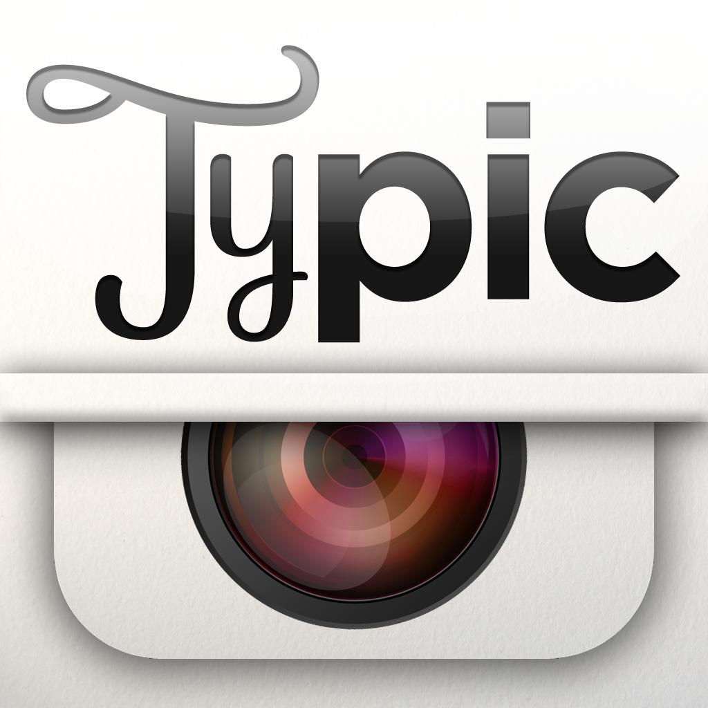 """画像処理アプリ""""typic""""がとてもいい。"""