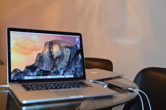 MacBook Pro、手に入れました。