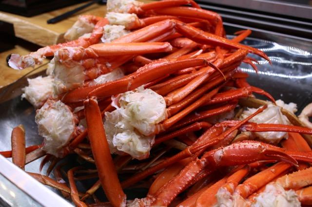うちの楽しい晩御飯。カニ&ビュッフェ @赤坂