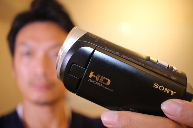 sonyのビデオカメラを手に入れたのでご紹介!HDR-CX485